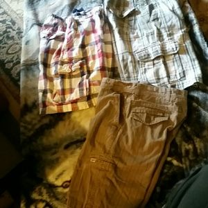 Other - 3 PAIR OF BOYS CARGO SHORTS